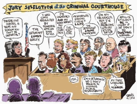 Image result for cartoons on jury